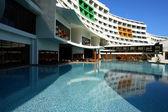 The modern hotel in Turkey. — Stock Photo