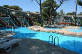The villas and swimming pools. — Fotografia Stock