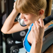 Woman at gym exercise fitness - Foto de Stock