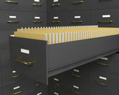 Files Cabinet — Stock Photo