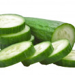 Cucumber isolated - Stock Photo