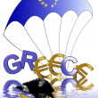 Euro crisis Greece — Stock Photo #10537541