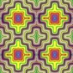 Optic illusion illustration with geometric design — Stock Photo #10538400