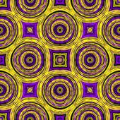 Optische Illusion Abbildung mit geometrischen design — Stockfoto