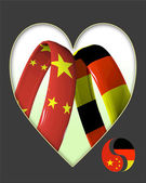 China and Germany — Stock Photo