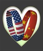 China and America — Stock Photo