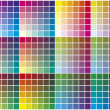 Stock Vector: Vector color palette