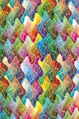 цвет в движении — Стоковое фото