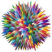 Künstler-farben — Stockvektor