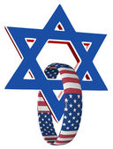 USA and Israel — Stock Photo