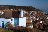 Hastings view house cityscape — Stock Photo