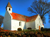 Church Denmark relegion — Stock Photo