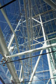 Metal glass modern architecture — Stock Photo