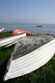 Rowing boats sea — Stock Photo