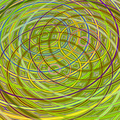 The pattern of the rings — Stock Photo
