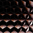 Background with geometric shapes - Foto Stock