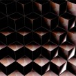 Background with geometric shapes — Stock Photo