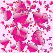 Royalty-Free Stock Vector Image: Seamless pattern on Valentine