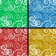 Royalty-Free Stock Imagem Vetorial: Seamless spiral pattern