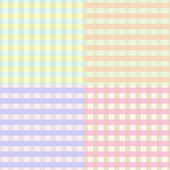 Seamless plaid pattern — Vettoriale Stock