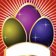 Royalty-Free Stock Imagen vectorial: Easter Holiday Cards