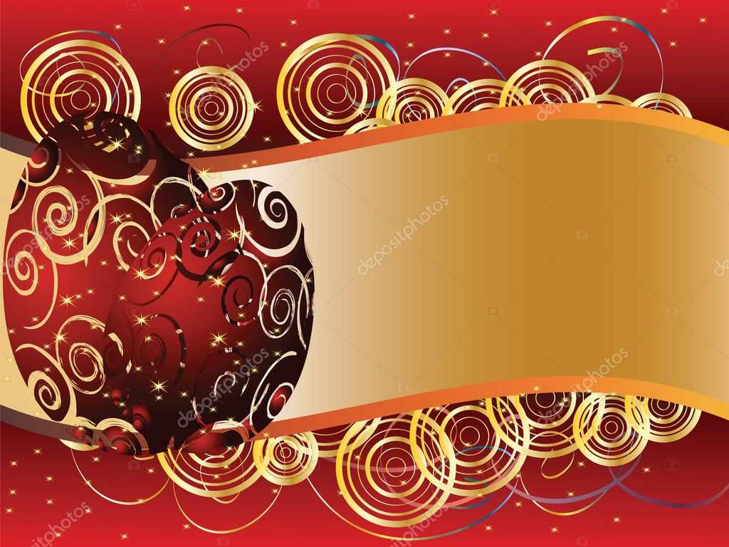 Greeting card for Easter with eggs and place for text  Stock Vector #9456708