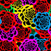 Seamless floral pattern 3 — Stockvector