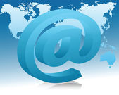 The concept of e-mail — 图库矢量图片