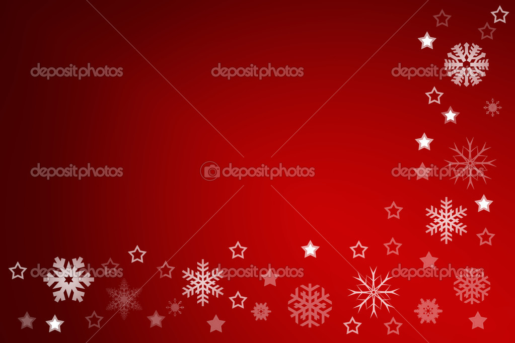 Christmas background for your designs with stars and snowflakes — Stock Photo #9272601