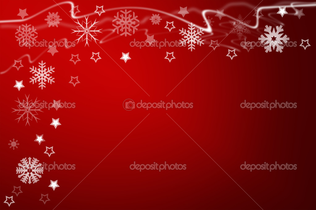 Christmas background for your designs with stars and snowflakes — Stock Photo #9272610