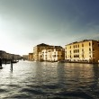 Grand Canal in Venice, Italy in sunset time — Stock Photo