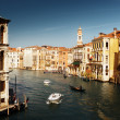 Grand Canal in Venice, Italy in sunset time — Stock Photo #10201828