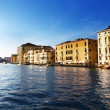 Grand Canal in Venice, Italy in sunset time — Stock Photo #10282230