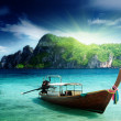 Royalty-Free Stock Photo: Boat on Phi Phi island Thailand