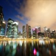 Night view of Singapore — Stock Photo
