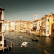 Grand Canal in Venice, Italy in sunset time — Stock Photo #10282262