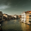Grand Canal in Venice, Italy in sunset time — Stock Photo #10482695