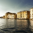 Grand Canal in Venice, Italy in sunset time — Stock Photo #10482696