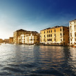 Grand Canal in Venice, Italy in sunset time — Stock Photo #10482698