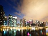 Night view of Singapore — Stock Photo