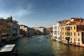 京杭运河在威尼斯,意大利在日落时间 — 图库照片