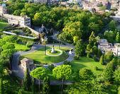 梵蒂冈花园、 罗马 — 图库照片