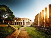 Coliseu, em roma, itália — Foto Stock