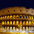 The Colosseum at night, Rome, Italy — Stock Photo #8670073