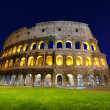 The Colosseum at night, Rome, Italy - ストック写真
