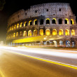 The Colosseum at night, Rome, Italy — Stock Photo #8670105