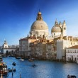 Grand Canal and Basilica Santa Maria della Salute, Venice, Italy — Stock Photo #8670130