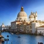 Grand Canal and Basilica Santa Maria della Salute, Venice, Italy — Stock Photo #8670130