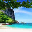 Beach on poda island in Thailand — Stock Photo #8775115