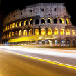 Stock Photo: The Colosseum at night, Rome, Italy